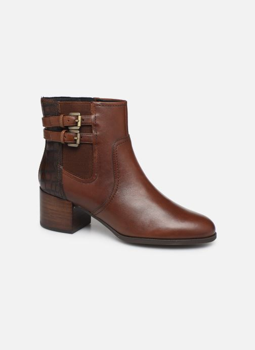 Boots en enkellaarsjes Geox D JACY MID 2 Bruin detail