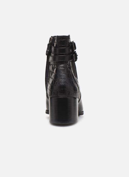 Boots en enkellaarsjes Geox D JACY MID  2 Zwart rechts