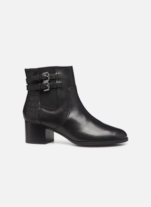 Boots en enkellaarsjes Geox D JACY MID  2 Zwart achterkant