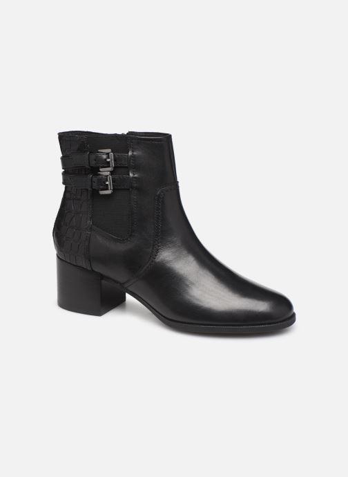 Boots en enkellaarsjes Geox D JACY MID  2 Zwart detail