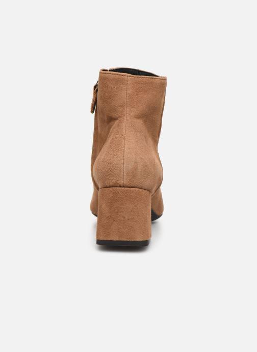 Bottines et boots Geox D SEYLA Beige vue droite