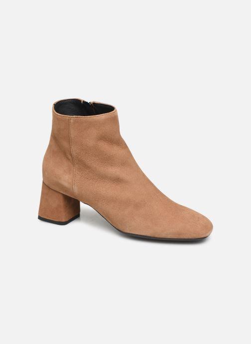 Bottines et boots Geox D SEYLA Beige vue détail/paire