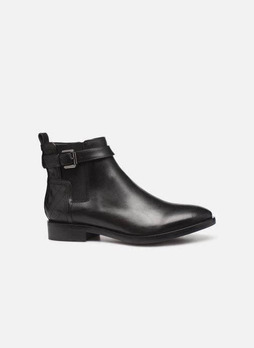 Boots en enkellaarsjes Geox DONNA BROGUE 2 Zwart achterkant