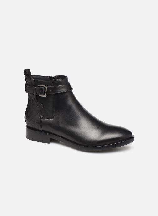 Boots en enkellaarsjes Geox DONNA BROGUE 2 Zwart detail