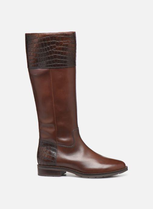 Støvler & gummistøvler Geox D BETTANIE 4  high Brun se bagfra