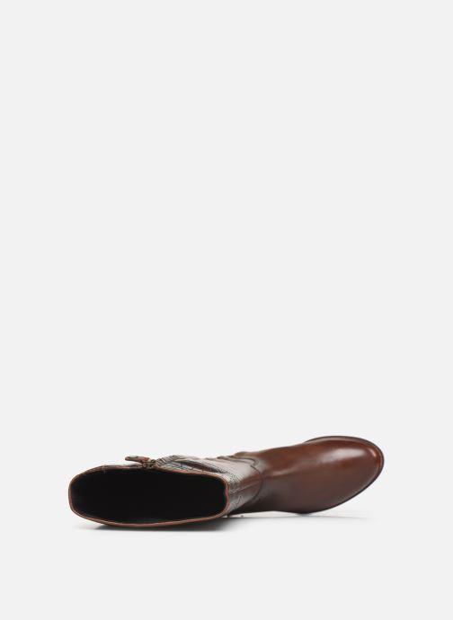 Støvler & gummistøvler Geox D BETTANIE 4  high Brun se fra venstre