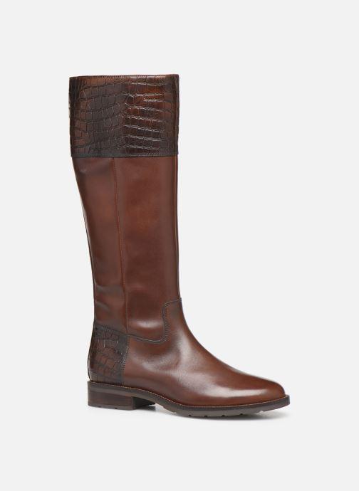 Støvler & gummistøvler Geox D BETTANIE 4  high Brun detaljeret billede af skoene