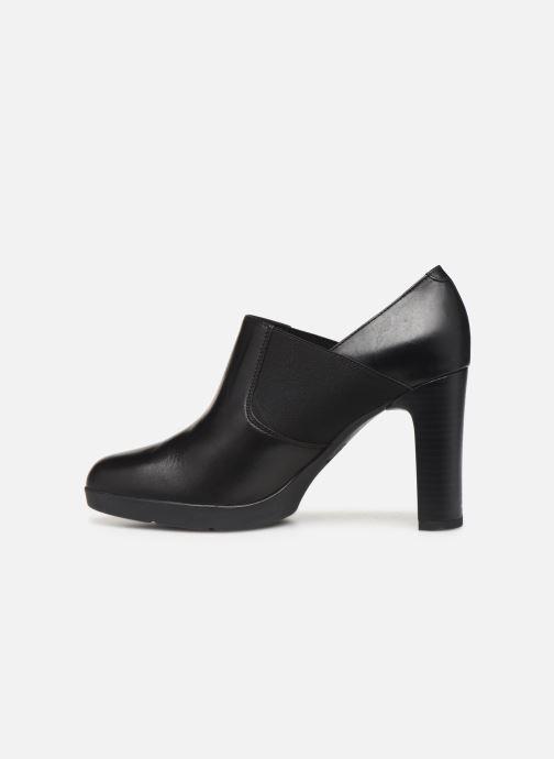 Boots en enkellaarsjes Geox D ANNYA HIGH Zwart voorkant