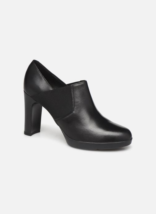 Boots en enkellaarsjes Geox D ANNYA HIGH Zwart detail