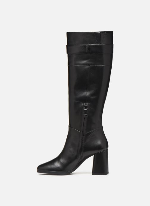 Boots & wellies Geox D CALINDA MID Black front view