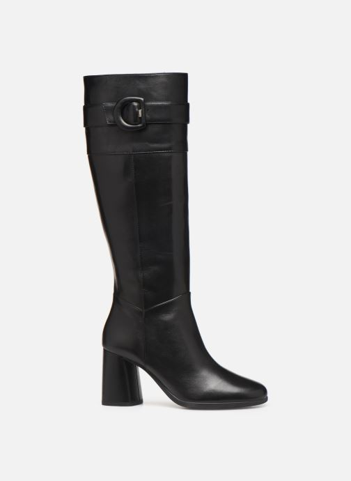 Boots & wellies Geox D CALINDA MID Black back view