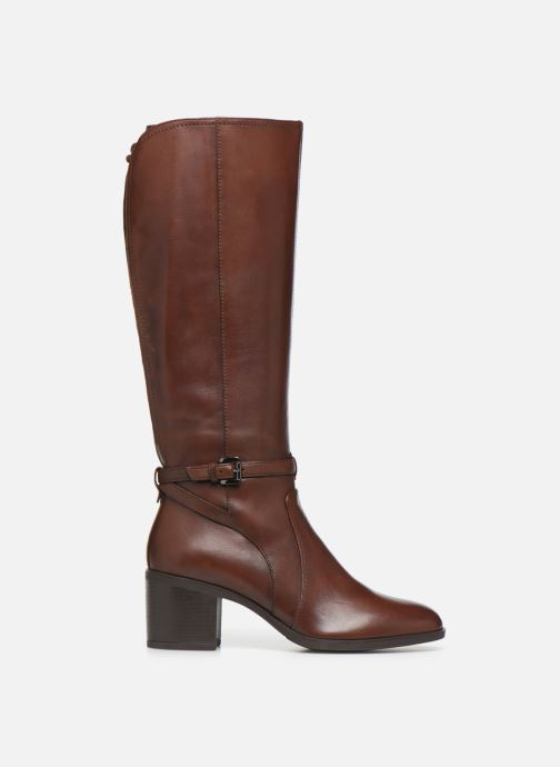 Boots & wellies Geox D GLYNNA Brown back view