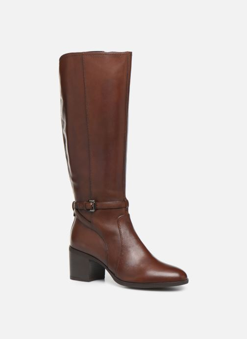 Boots & wellies Geox D GLYNNA Brown detailed view/ Pair view
