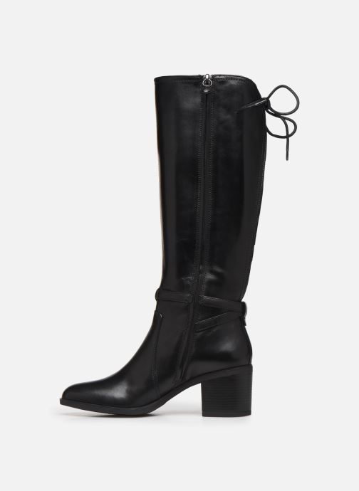 Boots & wellies Geox D GLYNNA Black front view