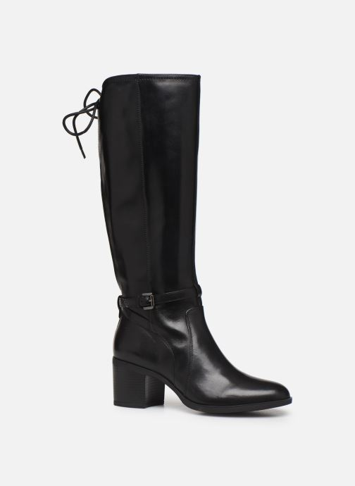 Boots & wellies Geox D GLYNNA Black detailed view/ Pair view