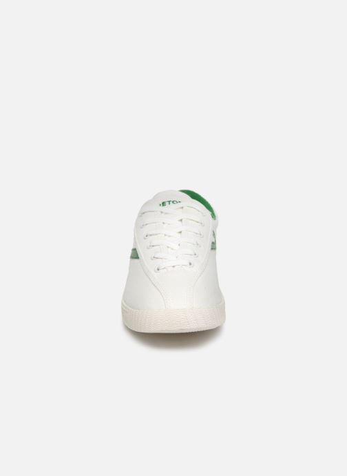 Baskets Tretorn Nylite W C Blanc vue portées chaussures