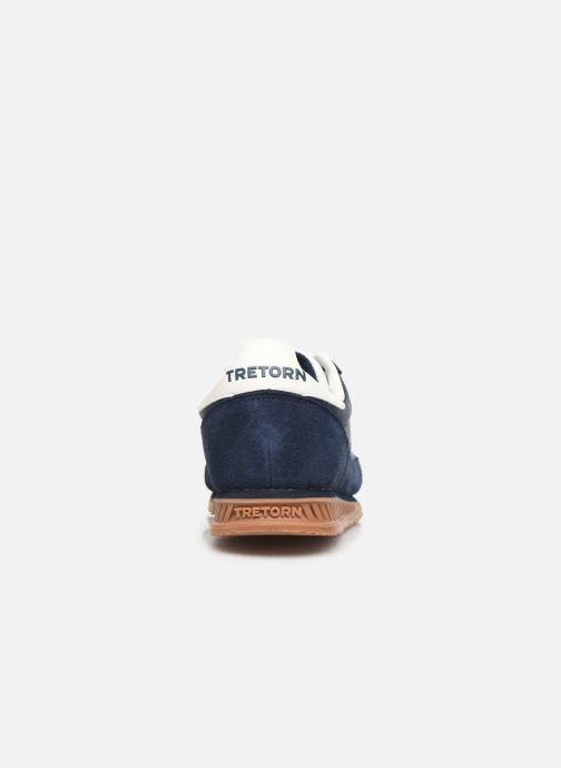Baskets Tretorn Rawlins 2 C Bleu vue droite