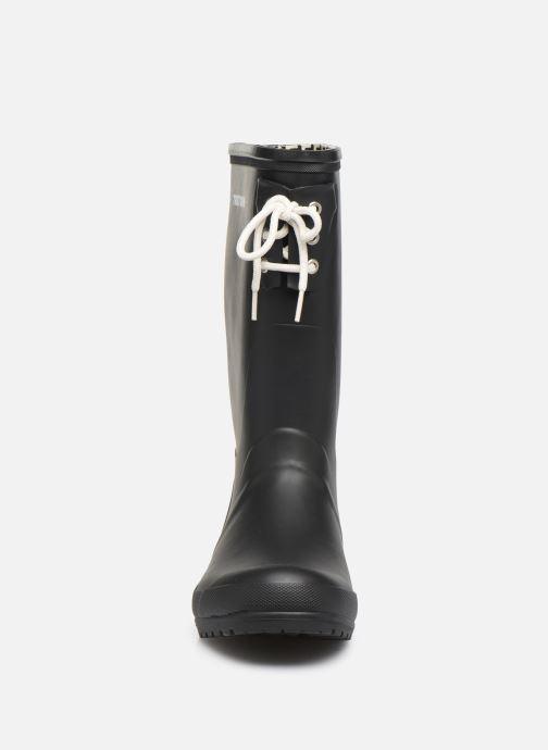 Bottes Tretorn Lilly C Noir vue portées chaussures
