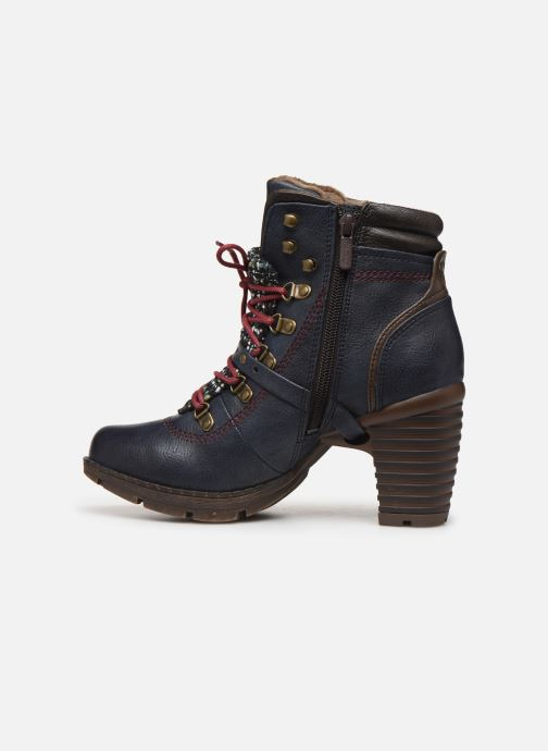 Ankle boots Mustang shoes Cornflower Blue front view