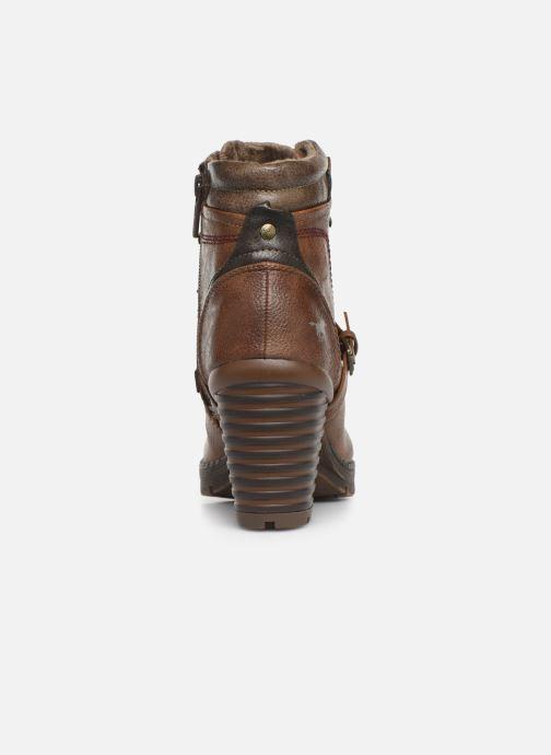 Bottines et boots Mustang shoes Cornflower Marron vue droite