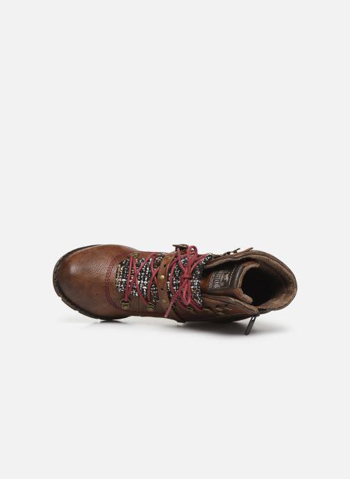 Bottines et boots Mustang shoes Cornflower Marron vue gauche