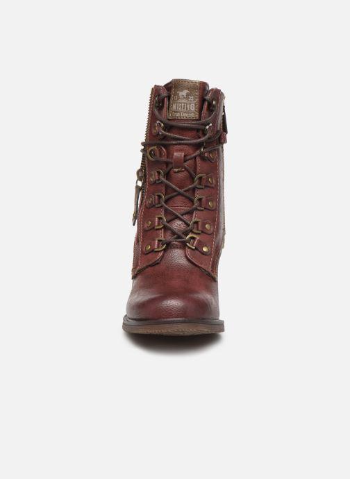 Boots en enkellaarsjes Mustang shoes Paurhun Bordeaux model