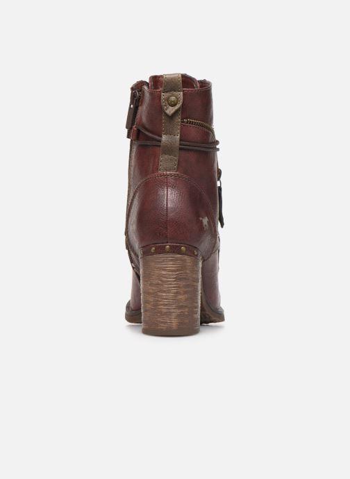 Boots en enkellaarsjes Mustang shoes Paurhun Bordeaux rechts