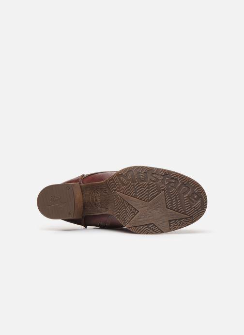 Boots en enkellaarsjes Mustang shoes Paurhun Bordeaux boven