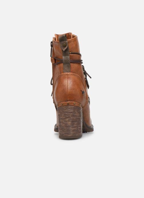 Bottines et boots Mustang shoes Paurhun Marron vue droite