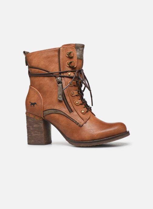 Boots en enkellaarsjes Mustang shoes Paurhun Bruin achterkant