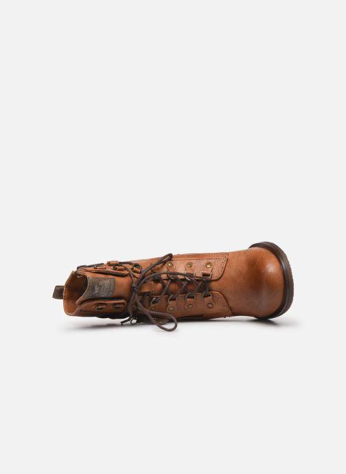 Boots en enkellaarsjes Mustang shoes Paurhun Bruin links