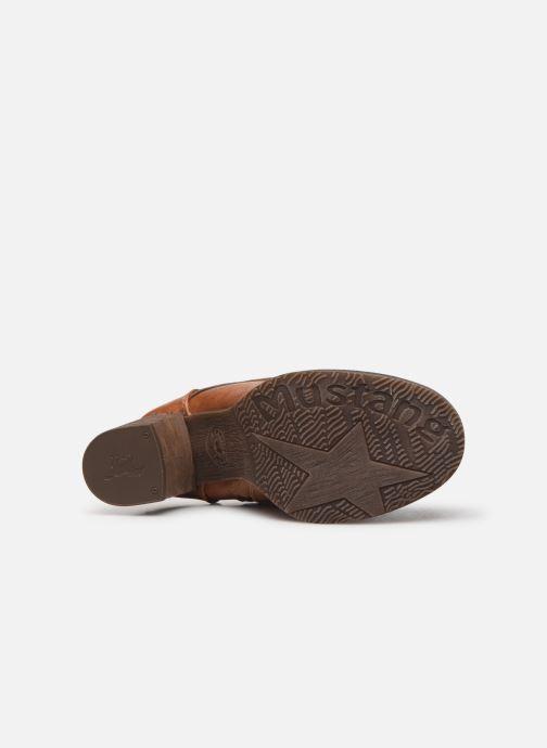 Boots en enkellaarsjes Mustang shoes Paurhun Bruin boven