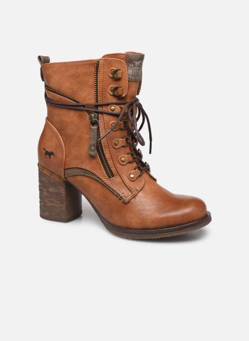Boots en enkellaarsjes Mustang shoes Paurhun Bruin detail