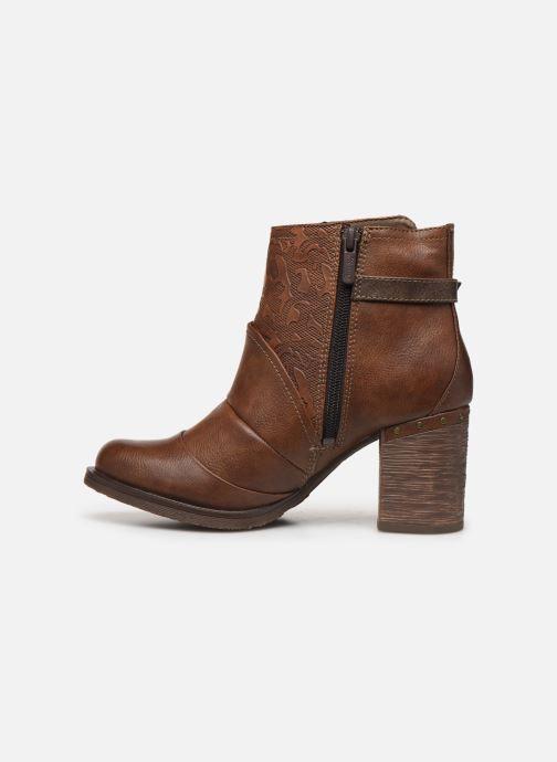 Stivaletti e tronchetti Mustang shoes Jeda Marrone immagine frontale