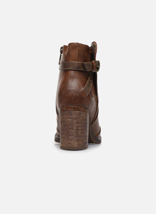 Bottines et boots Mustang shoes Jeda Marron vue droite