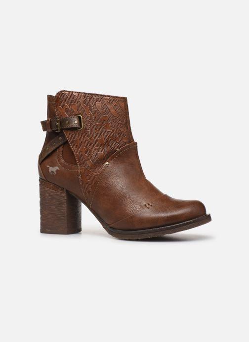 Bottines et boots Mustang shoes Jeda Marron vue derrière