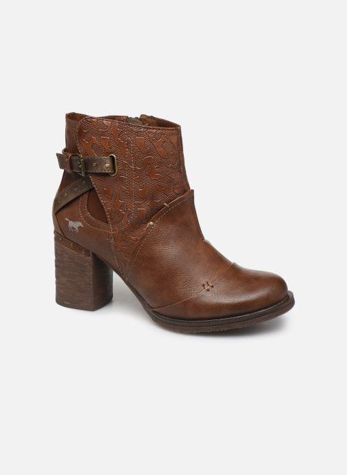 Bottines et boots Mustang shoes Jeda Marron vue détail/paire