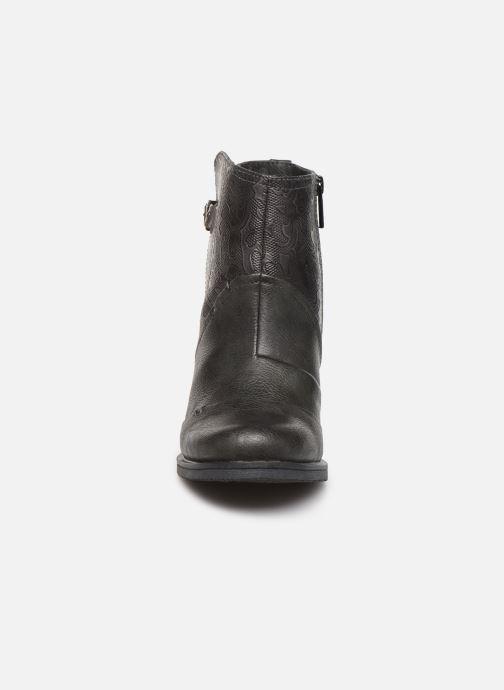 Bottines et boots Mustang shoes Jeda Gris vue portées chaussures