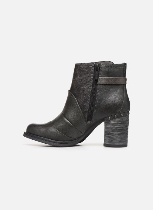 Bottines et boots Mustang shoes Jeda Gris vue face