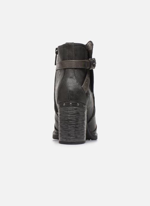 Bottines et boots Mustang shoes Jeda Gris vue droite