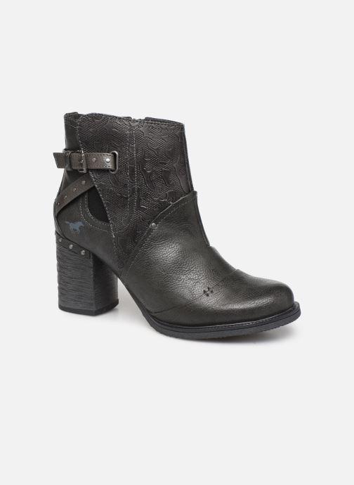 Bottines et boots Mustang shoes Jeda Gris vue détail/paire