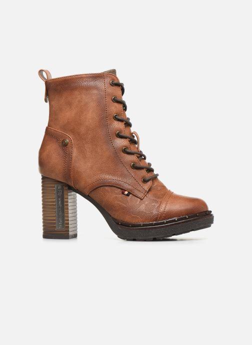 Bottines et boots Mustang shoes Laumon Marron vue derrière