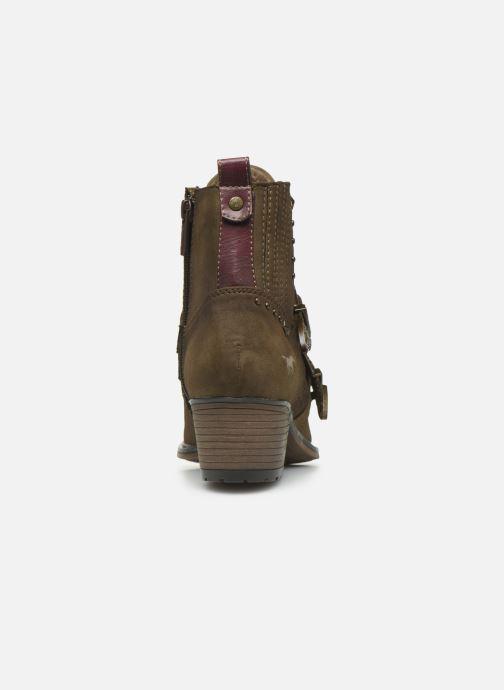 Bottines et boots Mustang shoes Laupen Marron vue droite