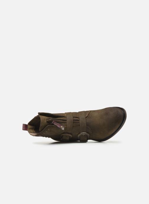 Stivaletti e tronchetti Mustang shoes Laupen Marrone immagine sinistra