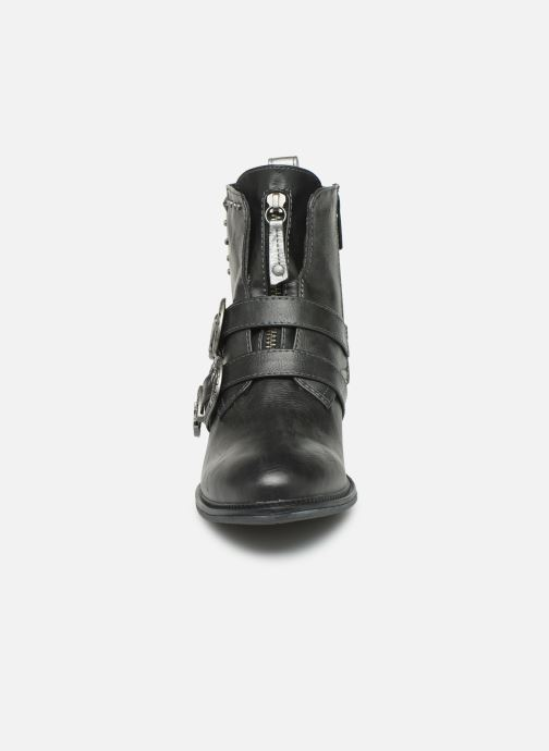 Bottines et boots Mustang shoes Laupen Gris vue portées chaussures