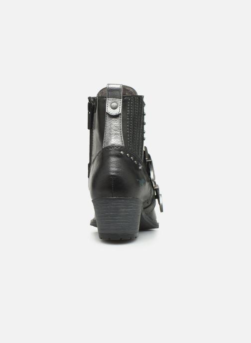 Bottines et boots Mustang shoes Laupen Gris vue droite
