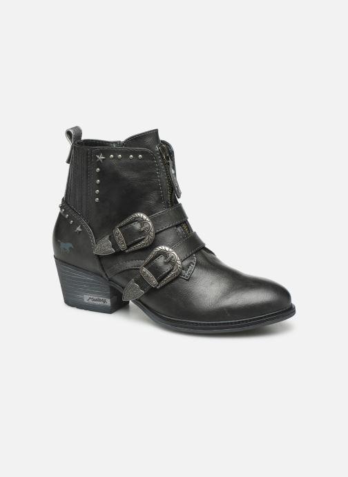 Bottines et boots Mustang shoes Laupen Gris vue détail/paire