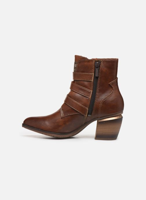 Bottines et boots Mustang shoes Jucha Marron vue face