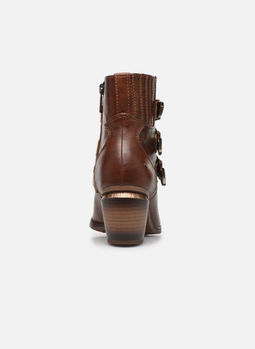 Bottines et boots Mustang shoes Jucha Marron vue droite