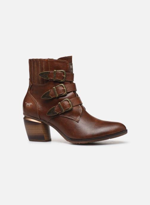 Bottines et boots Mustang shoes Jucha Marron vue derrière